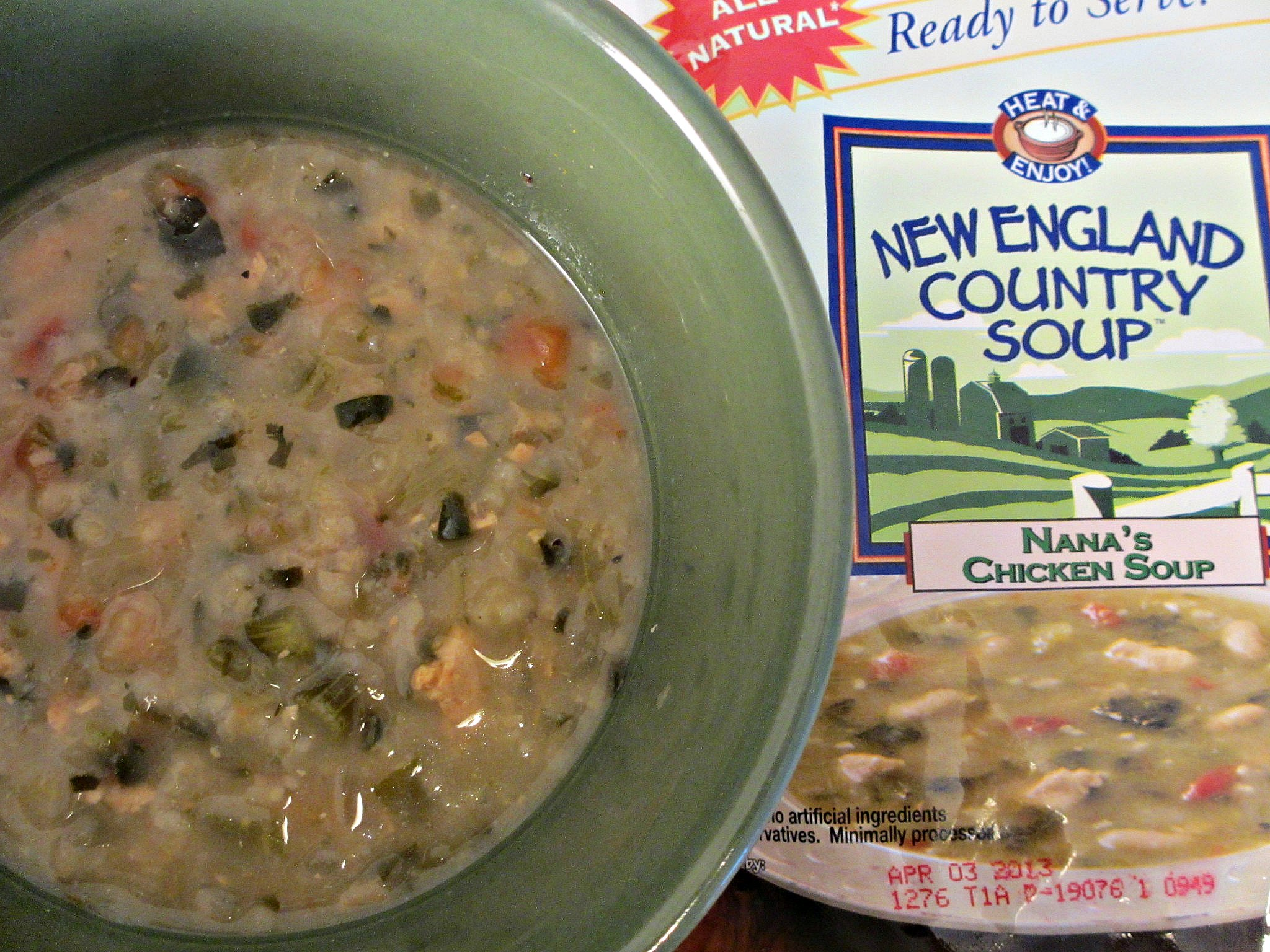 Convenient and natural New England Country Soup