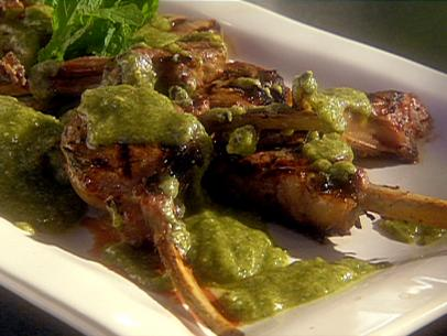 Grilled-Baby-Lamb-Chops-with-Mint-Pesto