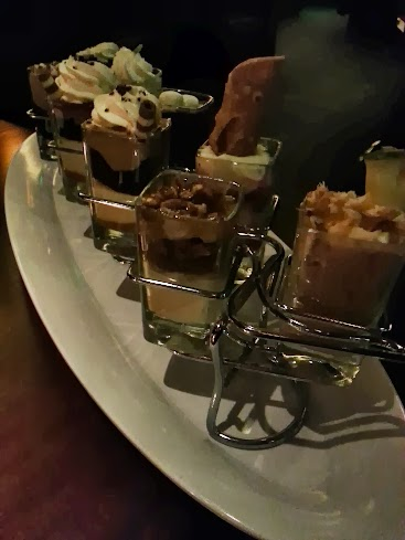 Shot glass desserts