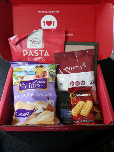 March Love With Food Subscription Box