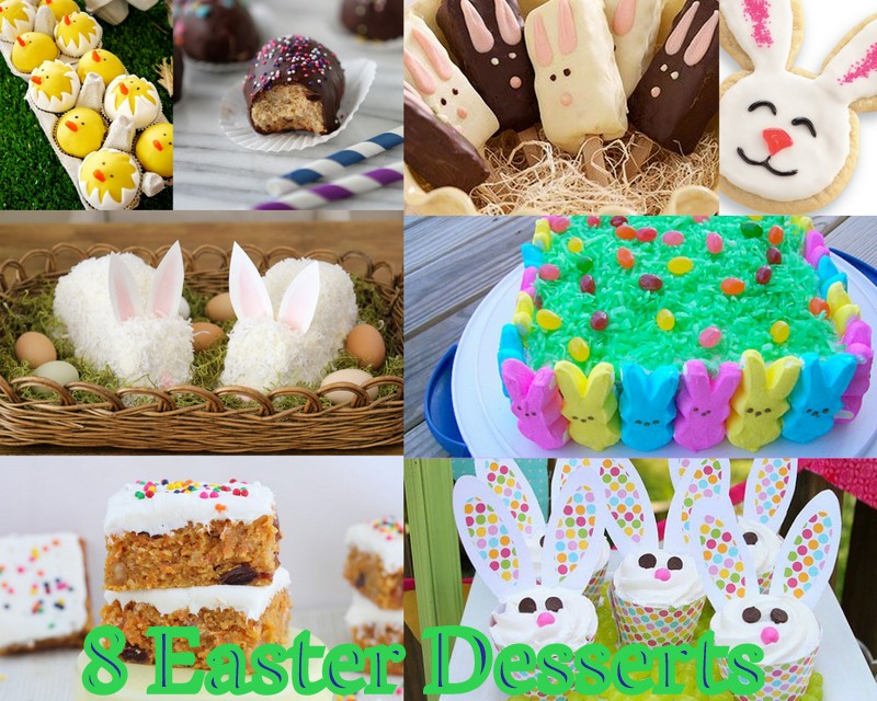 8 Easter Dessert Ideas