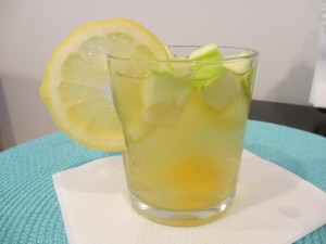 White Wine Sangria with Mariposa