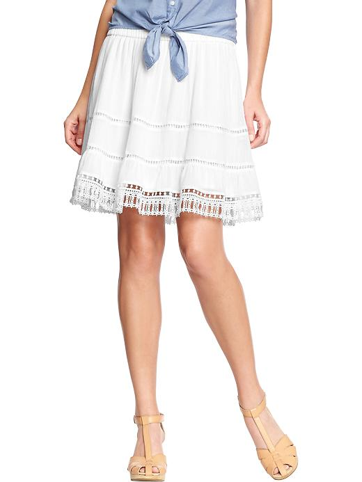 Old Navy White Skirt