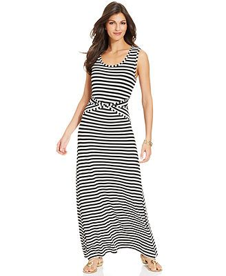 Striped Maxi Dress from Macys