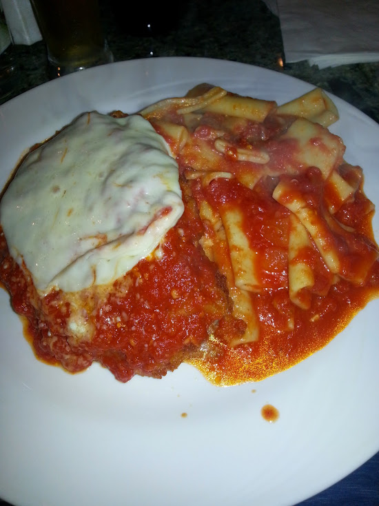 Chicken Parm Dinner