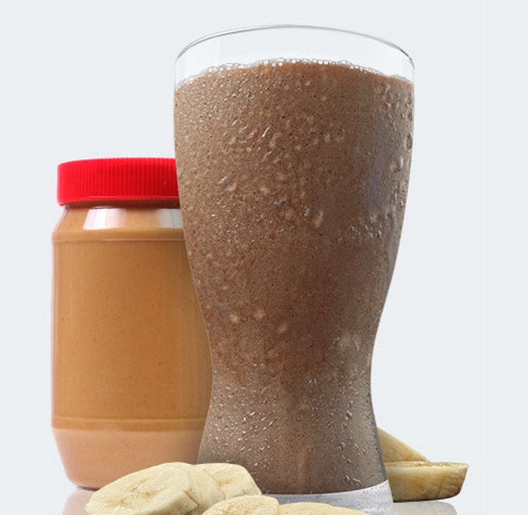 Chocolate Banana Peanut Butter Shakeology Smoothie