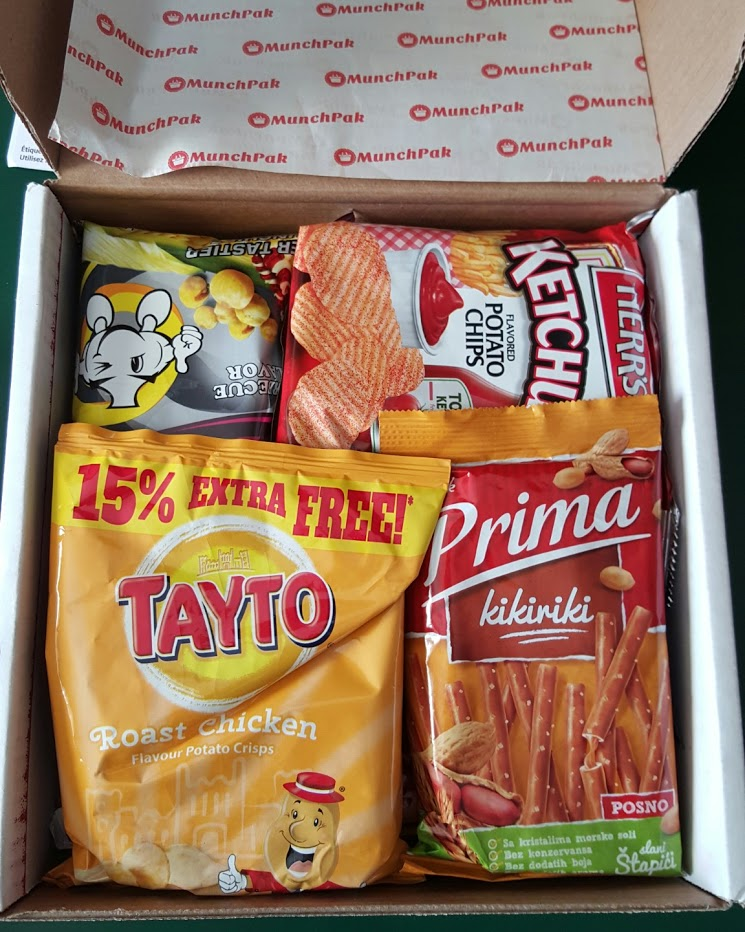 Munchpak Snacks Box