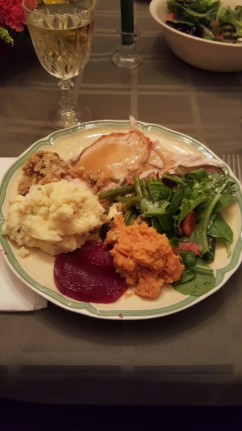 Thanksgiving Dinner 2015