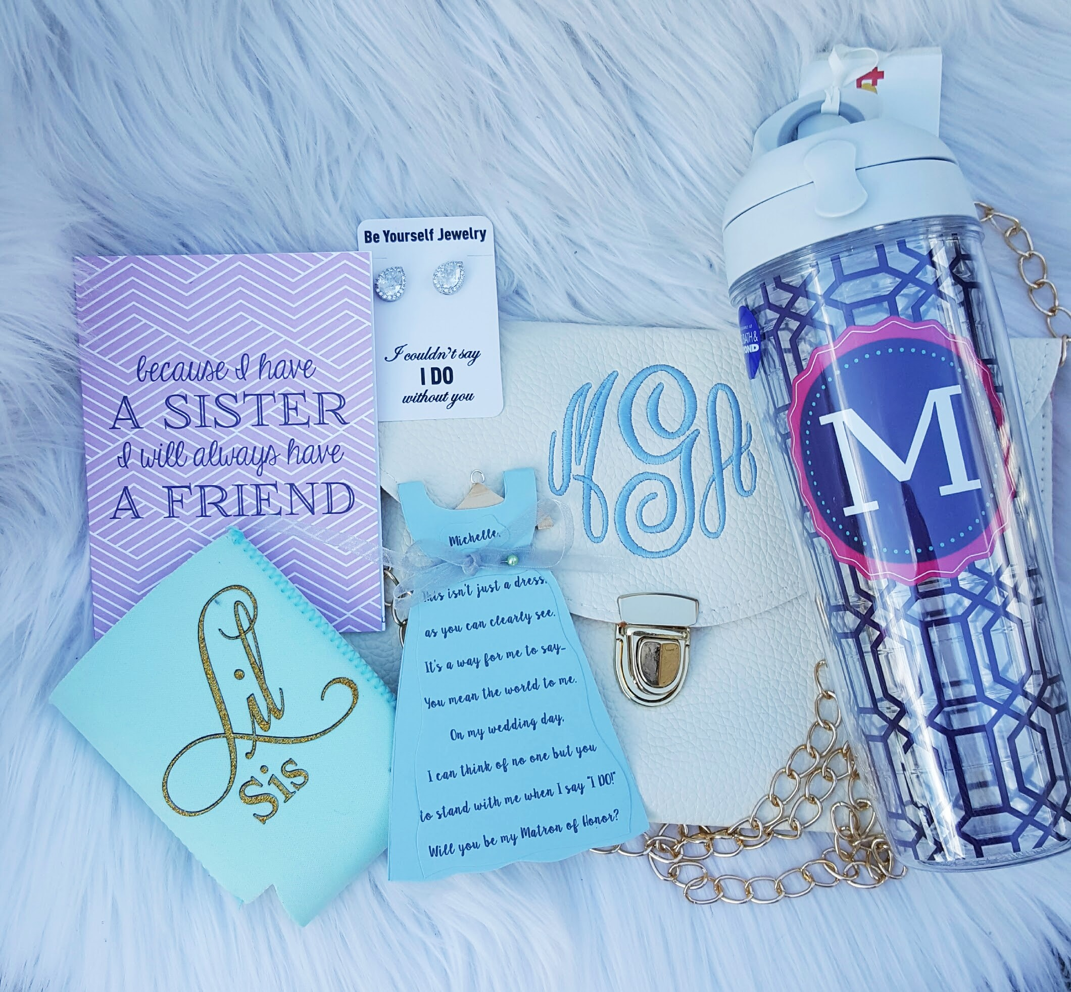 Sister Bridesmaid Gifts