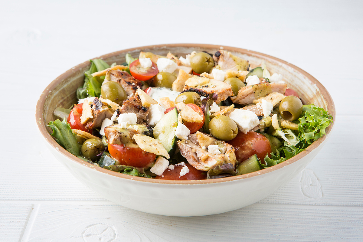 Salad with Chicken Bowl